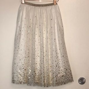 🌴Cat & Jack Tool Sparkly Skirt Small 6/6X